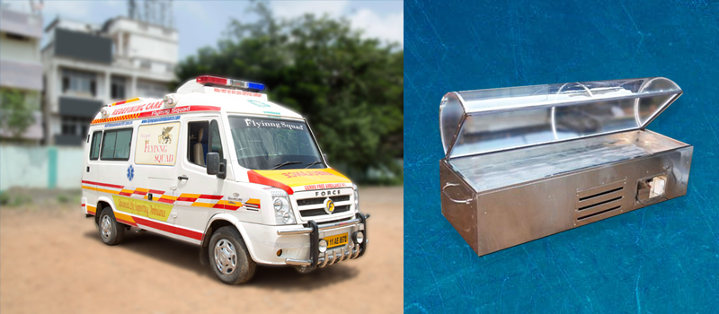 Flyinng Squad Funeral Care-Dead Body Mortuary Vehicle In Chennai